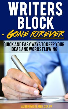 Business Writing book on Writer's Block